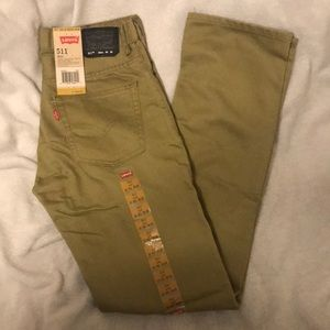 Boys Levi 511 Slim fit jeans